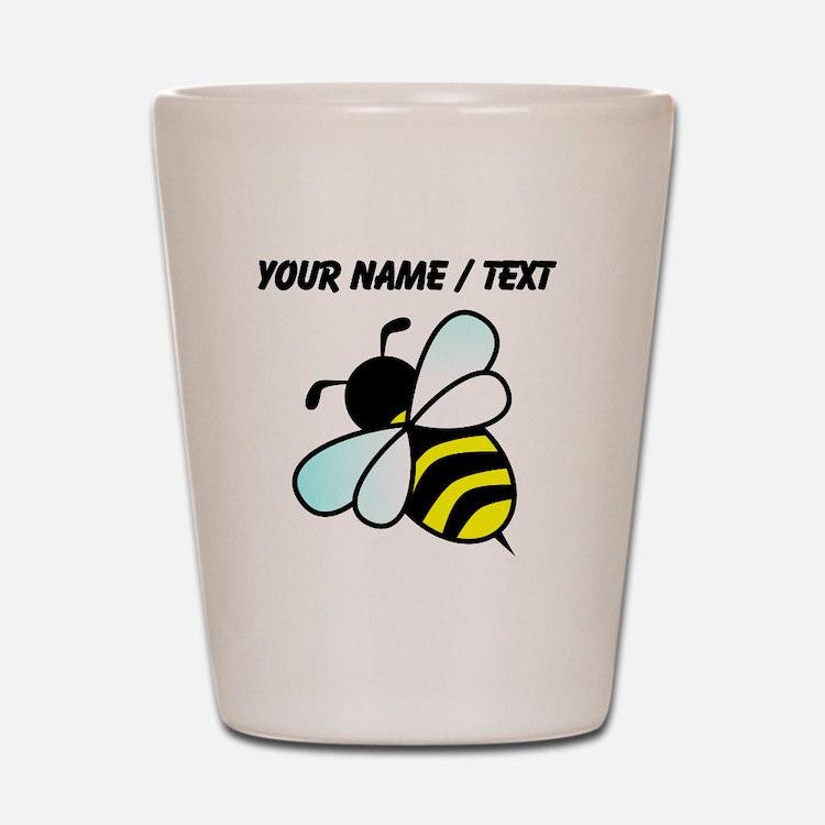 Custom Bumble Bee Shot Glass