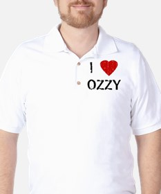 I Heart OZZY (Vintage) Golf Shirt