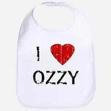 I Heart OZZY (Vintage) Bib