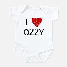I Heart OZZY (Vintage) Infant Bodysuit