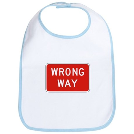 Wrong Way - USA Bib