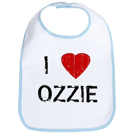 I Heart OZZIE (Vintage) Bib