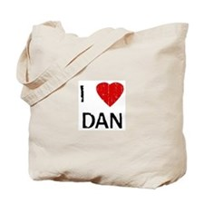 I Heart DAN (Vintage) Tote Bag