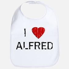 I Heart ALFRED (Vintage) Bib