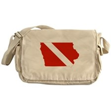 Iowa Diver Messenger Bag