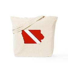 Iowa Diver Tote Bag