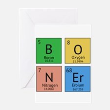 Chemistry Boner Greeting Card