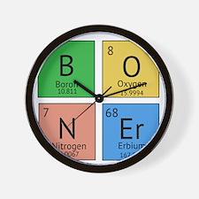 Chemistry Boner Wall Clock