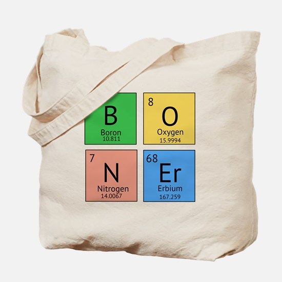 Chemistry Boner Tote Bag