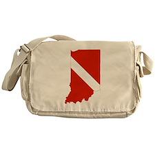 Indiana Diver Messenger Bag