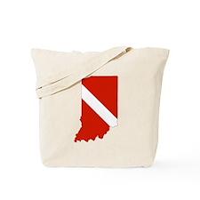 Indiana Diver Tote Bag