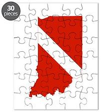 Indiana Diver Puzzle
