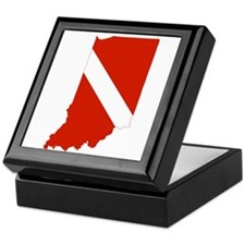 Indiana Diver Keepsake Box