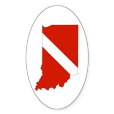 Indiana Diver Decal