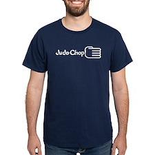 JUDO CHOP! T-Shirt Navy Blue