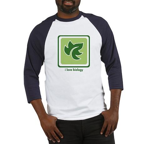 Love Biology (Leaf) Baseball Jersey