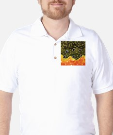 Trout Fly Fishing Golf Shirt