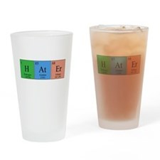 Smart Hater Drinking Glass