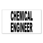 Chemical Engineer Rectangle Sticker