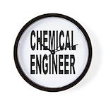 Chemical Engineer Wall Clock