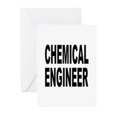 Chemical Engineer Greeting Cards (Pk of 10)