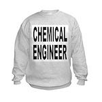 Chemical Engineer (Front) Kids Sweatshirt