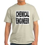 Chemical Engineer (Front) Ash Grey T-Shirt