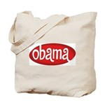 Obama Retro Tote Bag