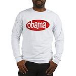 Obama Retro Long Sleeve T-Shirt