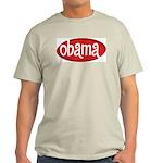 Obama Retro Ash Grey T-Shirt