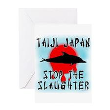 Taiji Slaughter Greeting Card