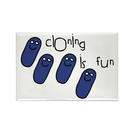 Cloning is Fun Rectangle Magnet (10 pack)