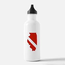 Illinois Diver Water Bottle