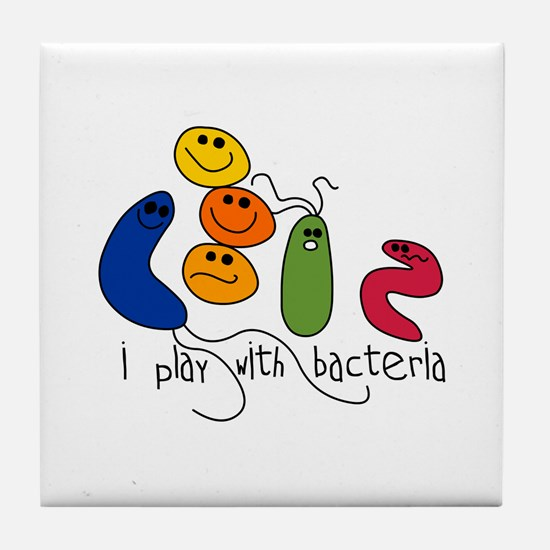 Play with Bacteria Tile Coaster