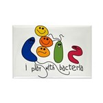 Play with Bacteria Rectangle Magnet (10 pack)