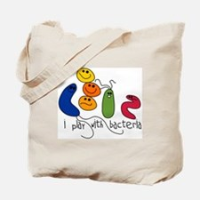 Play with Bacteria Tote Bag