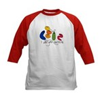 Play with Bacteria Kids Baseball Jersey