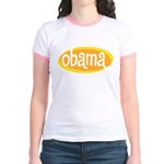 Obama Retro Gold Jr. Ringer T-Shirt