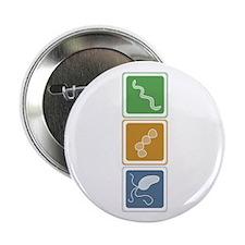 "Beautiful Bacteria 2.25"" Button (10 pack)"