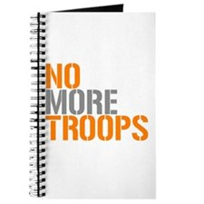 NO MORE TROOPS Journal