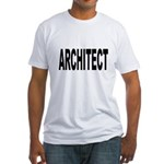 Architect (Front) Fitted T-Shirt