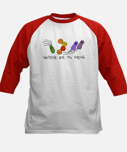 Bacteria are My Friends Kids Baseball Jersey