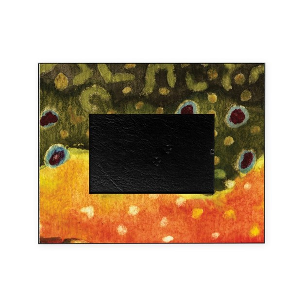 Trout Fly Fishing Picture Frame by troutwhiskers