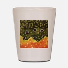Trout Fly Fishing Shot Glass