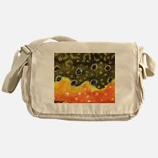 Trout Fly Fishing Messenger Bag