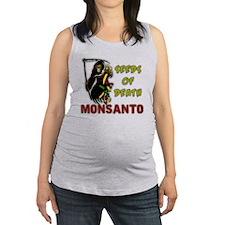 Seeds of Death - Monsanto Maternity Tank Top