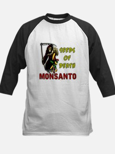 Seeds of Death - Monsanto Baseball Jersey