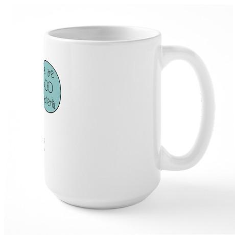 Poo Bacteria Large Mug