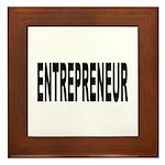 Entrepreneur Framed Tile