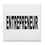 Entrepreneur Tile Coaster